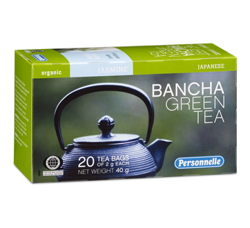 Image of product Personnelle - Bancha Green Tea, 20 units, Jasmine