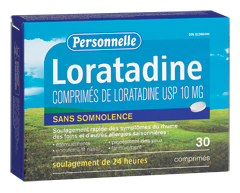 Image of product Personnelle - Loratadine, 30 Tablets