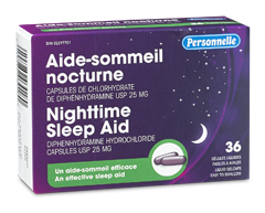 Image of product Personnelle - Nighttime Sleep Aid, 36 liquid gelcaps