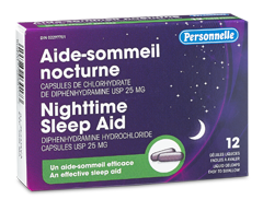 Image of product Personnelle - Nighttime Sleep Aid, 12 liquid gelcaps