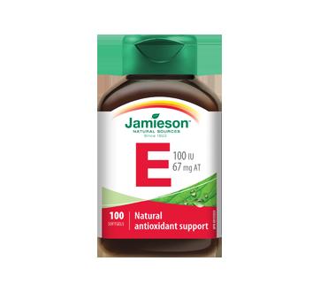 Image of product Jamieson - Vitamin E 100 IU - 67 mg AT, 100 units