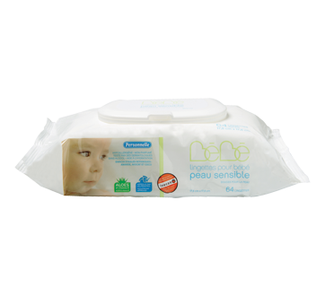Sensitive Baby Wipes, 64 units