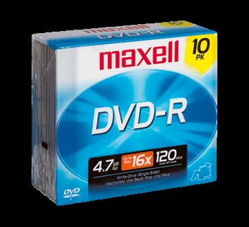 DVD-R 4.7 GB, 10 units