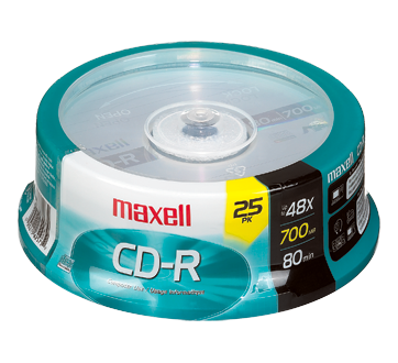 cd r 700 mb 25 units maxell cd jean coutu