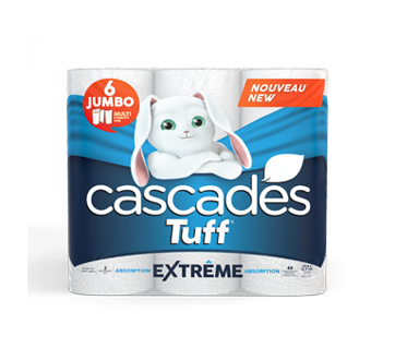 Tuff Extreme Absorption Paper Towel, 6 units