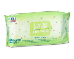 Image of product PJC - Baby Wipes, 64 wipes