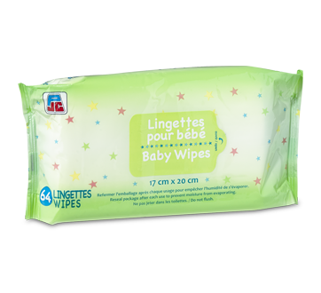 Baby Wipes, 64 wipes
