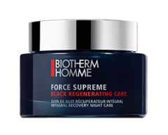 Image of product Biotherm - Force Supreme Black Regenerating Care Integral Recovery Night care, 75 ml