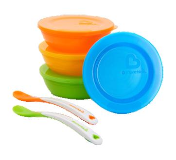 Love-A-Bowl Bowls, Lids and Spoons Set, 10 units
