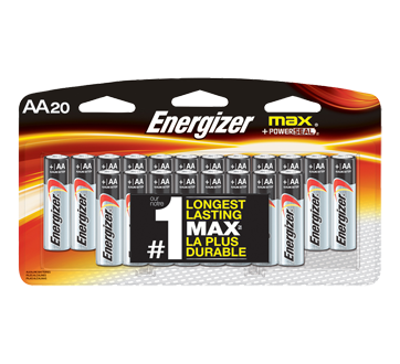 Max AA Battery Pack, 20 units