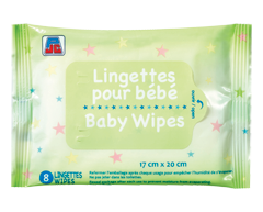 Image of product PJC - Baby Wipes, 8 units
