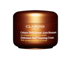 Image of product Clarins - Delicious Self Tanning Cream , 125 ml