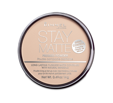 Stay Matte Pressed Powder, 14 g