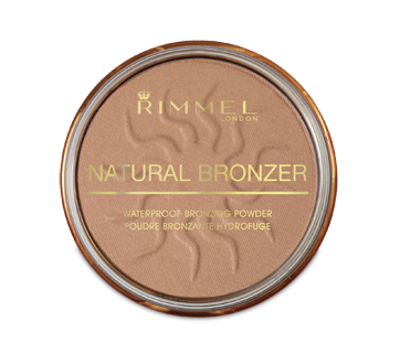Natural Bronzer Waterproof Bronzing Powder, 14 g