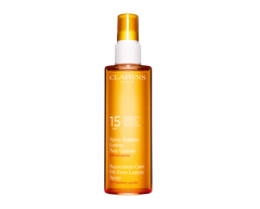 Image of product Clarins - Sunscreen Care Oil Free Lotion Spray For outdoor sports Moderate Protection SPF 15, 150 ml