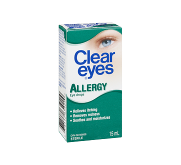 Image 2 of product Clear Eyes - Clear Eyes Allergy, 15 ml
