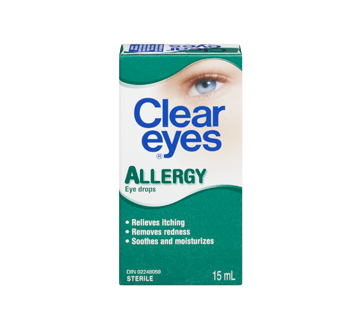 Image 3 of product Clear Eyes - Clear Eyes Allergy, 15 ml