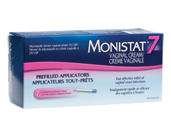 Image of product Monistat - Monistat 7 Vaginal Cream in Prefilled Applicators, 7 x 5 g