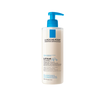 Lipikar Syndet AP+ Cleansing Body Cream-Gel, 400 ml