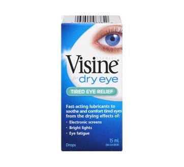 Visine Dry Eye Tired Eye Relief Eye Drops 15 Ml Visine Eye