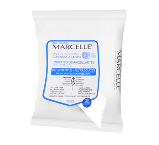 Ultra-Gentle Make-Up Removing Cleansing Cloths, 25 units