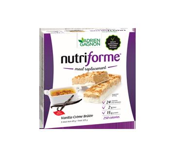 Image of product Adrien Gagnon - Nutriforme Meal Replacement, 5 x 65 g, Vanilla Crème Brûlée