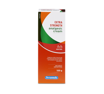 Image of product Personnelle - Extra Strength Analgesic Cream, 100 g