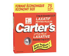 Image of product Carter's - Little Pills Laxative, 75 Tablets