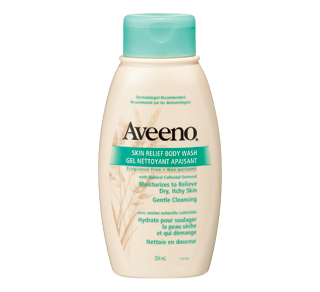 Skin Relief Body Wash Fragrance Free, 354 ml – Aveeno : Shower gel and cleanser