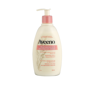 Image 2 of product Aveeno - Creamy Moisturizing Oil, 354 ml