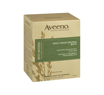 Image 2 of product Aveeno - Active Naturals Daily Moisturizing Bath, 8 pouches