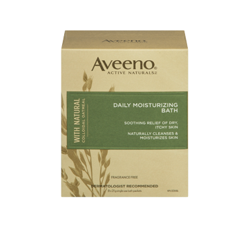 Image 3 of product Aveeno - Active Naturals Daily Moisturizing Bath, 8 pouches