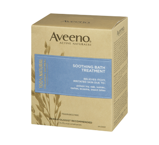 Soothing Bath Treatment, 8 x 42 g – Aveeno : Cream, lotion and medicated emulsion