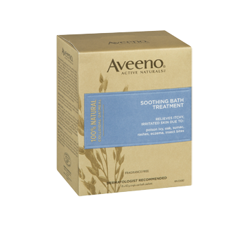 Image 2 of product Aveeno Baby - Soothing Bath Treatment, 8 x 42 g