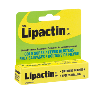 Image of product Lipactin - Gel Cold Sores & Fever Blisters, 3 g