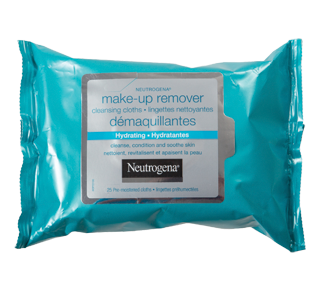 Hydrating Make-up Removing Wipes, 25 units