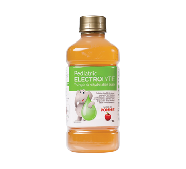 Image of product Pediatric Electrolyte - Pediatric Electrolyte Solution, 1 litre, Apple