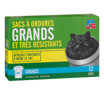 Image of product PJC - Garbage Bags, 12 bags
