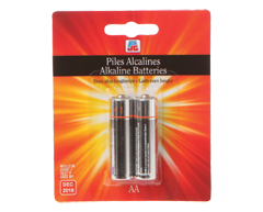 Image of product PJC - AAA Alkaline Batteries, 2 batteries