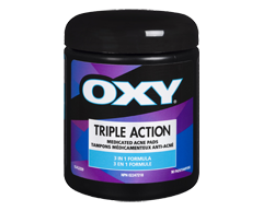 Image of product Oxy - Triple Action Medicated Acne, 90 units
