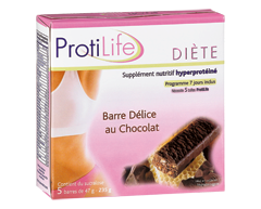 Image of product ProtiLife - Diet Chocolate Delight Bar, 5 x 47 g