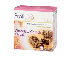 Image of product ProtiLife - Diet Chocolate Crunch Cereal Bar, 5 x 45 g