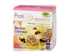 Image of product ProtiLife - Breakfast Banana Oatmeal Bar, 5 x 45 g