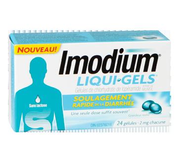 Image of product Imodium - Imodium Liqui-Gels, 24 units