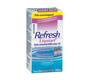 Image of product Allergan - Refresh Liquigel Lubricant Eye Drops, 15 ml
