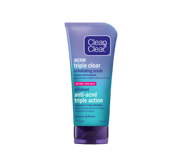 Image of product Clean & Clear - Acne Triple Clear Exfoliating Scrub, 141 g
