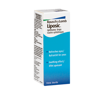 Image of product Bausch and Lomb - Liposic Ophtalmic Drops, 10ml