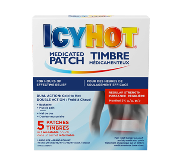 Image of product Icy Hot - Icy Hot Medicated Back Patch, 5 units, Large