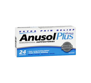 Image 2 of product Anusol - Anusol Plus Suppositories, 24 units