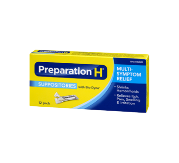 Image 1 of product Preparation-H - Preparation-H Suppositories, 12's